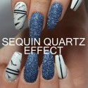 Sequin Quartz Effect