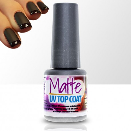 Matte UV Top Coat 6ml